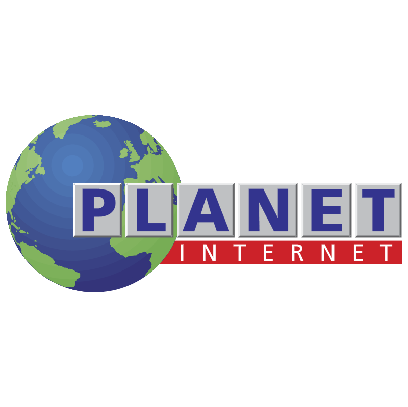 Planet Internet vector