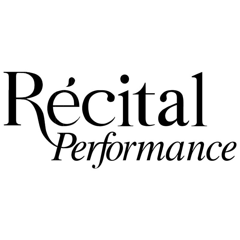 Recital Performance vector