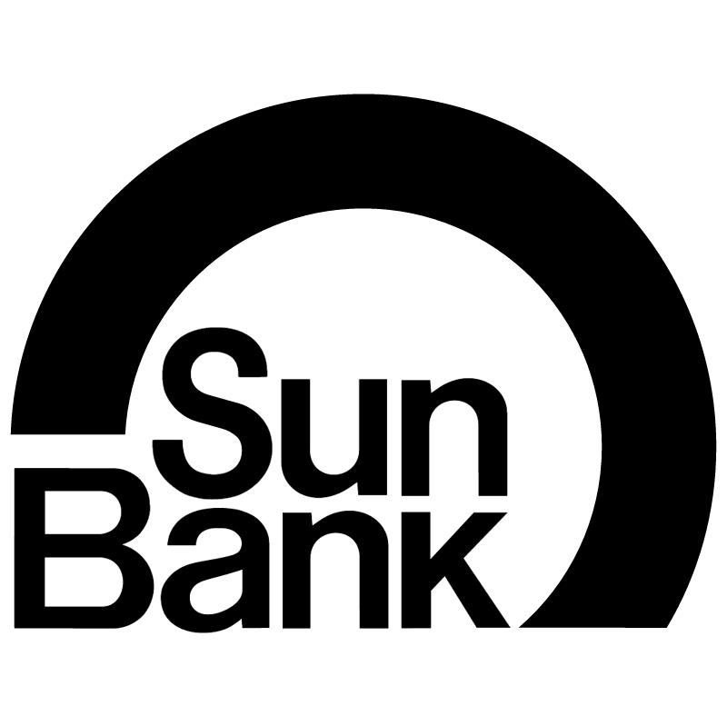 Sun Bank vector