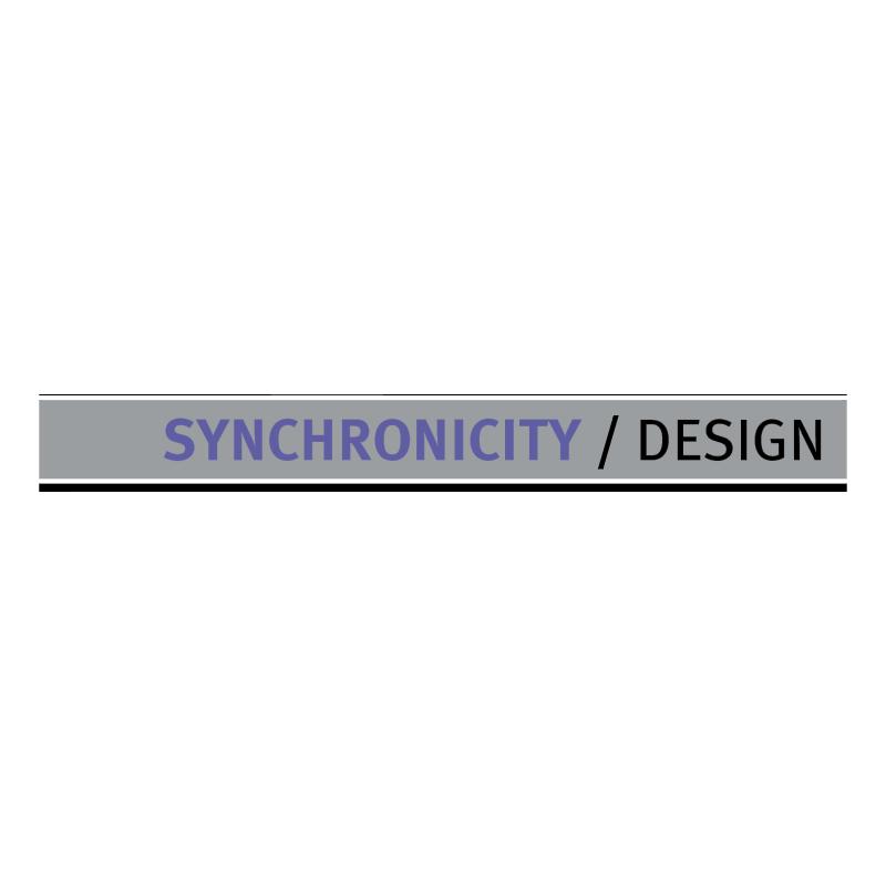 Synchronicity DESIGN vector logo