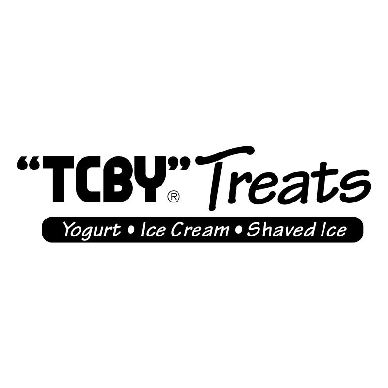 TCBY Treats vector logo