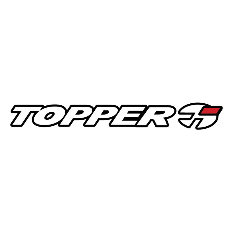 Topper Brazil vector