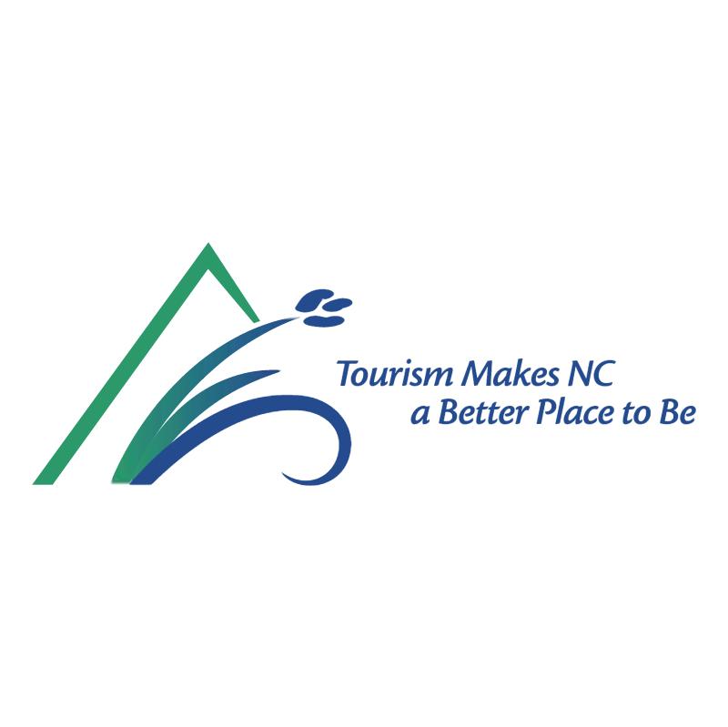 Tourism Makes North Carolina vector