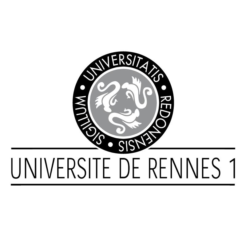 Universitatis Redonensis Sigillum vector