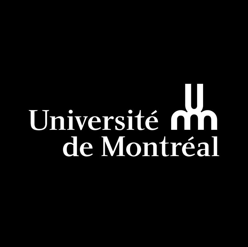 Universite de Montreal vector