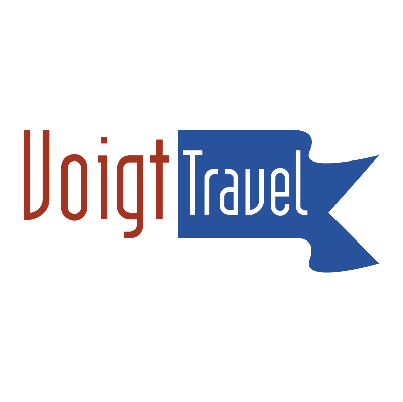 Voigt Travel vector logo
