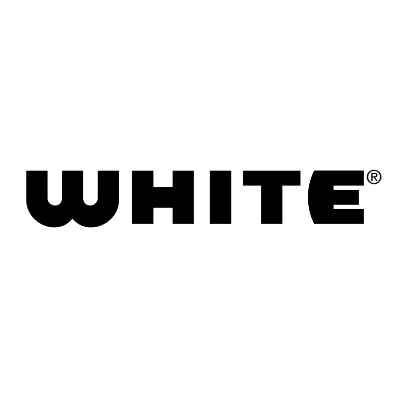 White Sewing vector logo