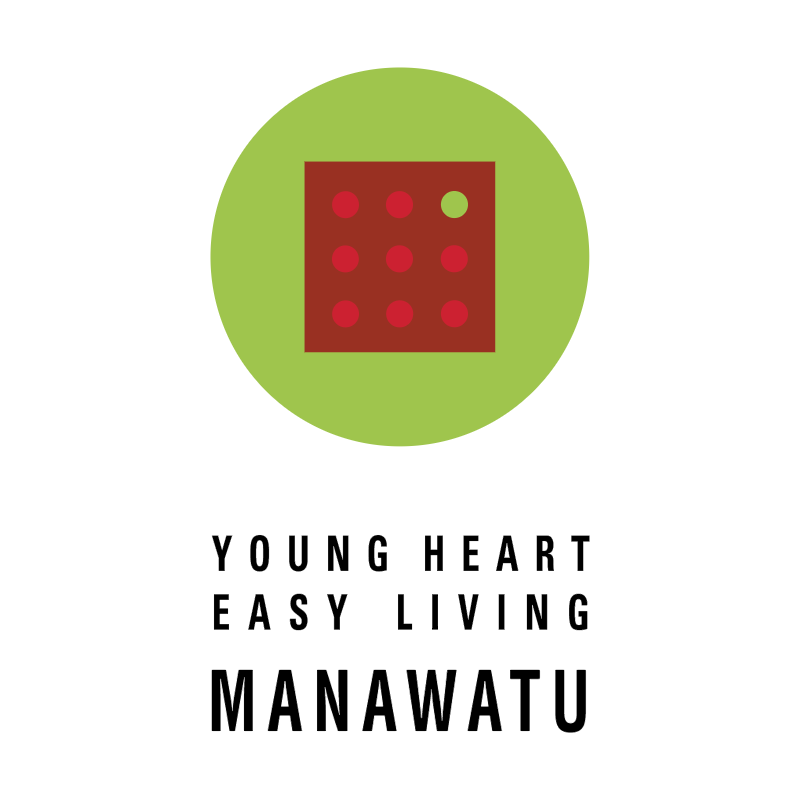 Young Heart Easy Living Manawatu vector