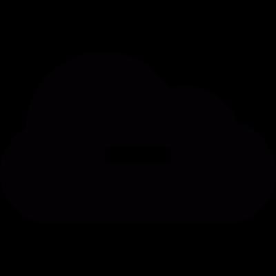 Minus Cloud vector logo
