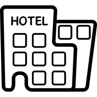 Modern Hotel vector