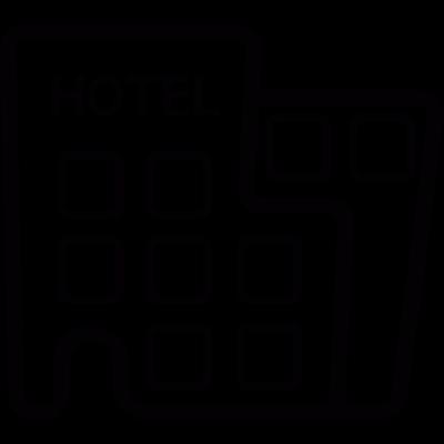 Modern Hotel vector logo