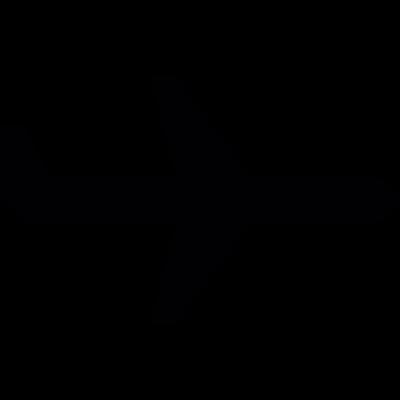 Aeroplane vector logo