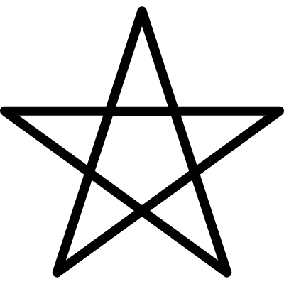 Pentagram vector logo