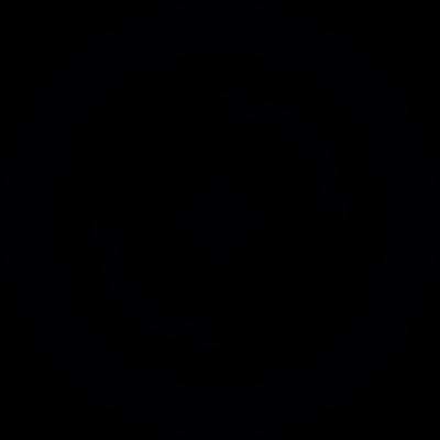 Car wheel vector logo