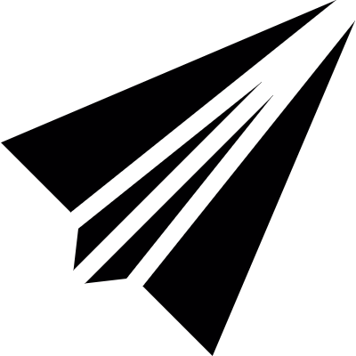 Paper Aeroplane vector logo