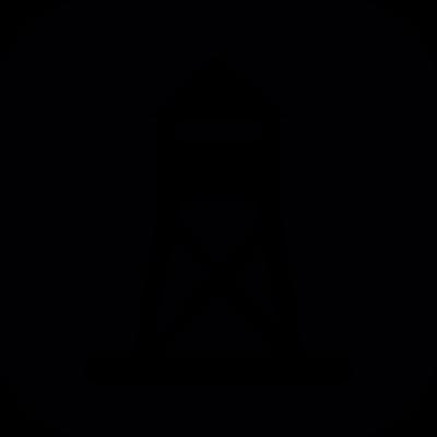 Fort tower of vigilance vector logo