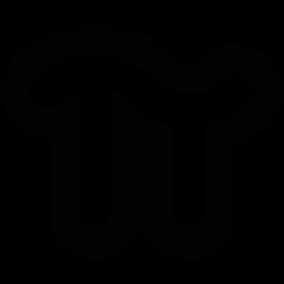 PI number vector logo