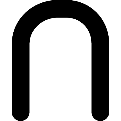 The intersection of mathematical symbol vector logo