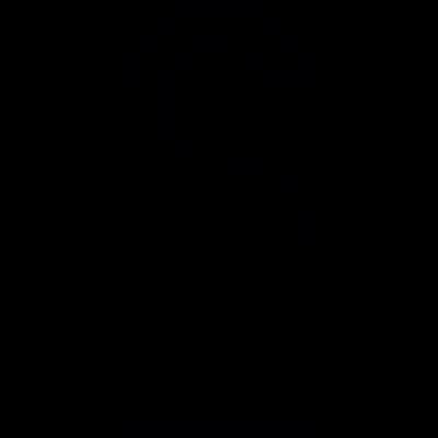 Door hang vector logo