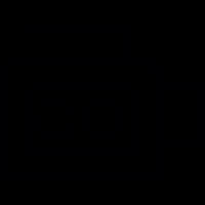 Vintage Video Camera vector logo