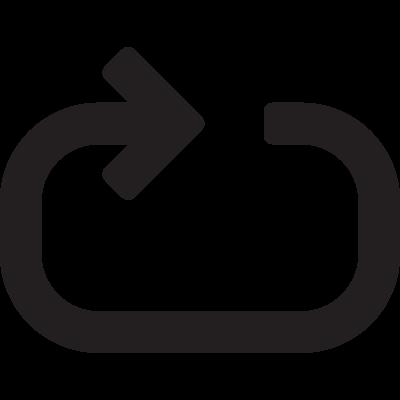 Looping Arrow vector logo