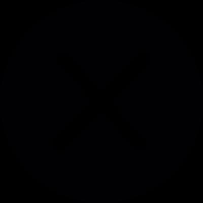 Close button vector logo