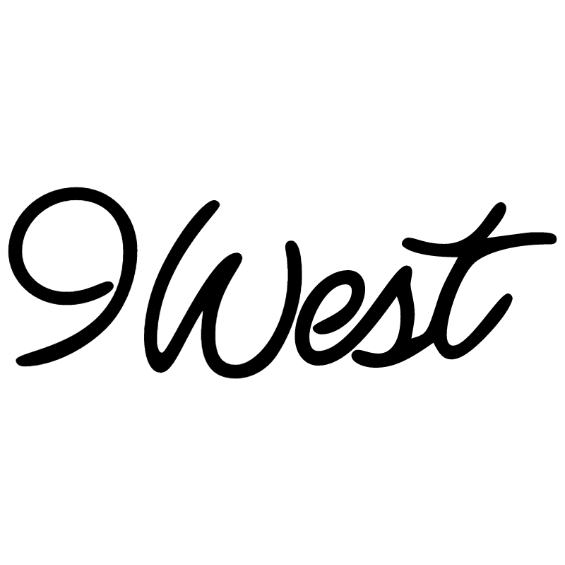 9 West vector logo
