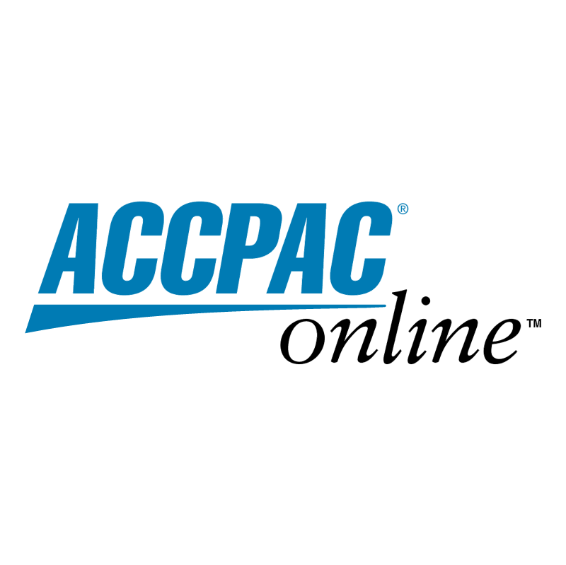 ACCPAC online vector