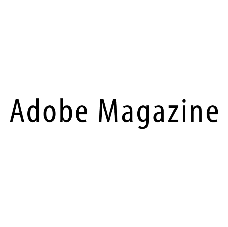 Adobe Magazine vector