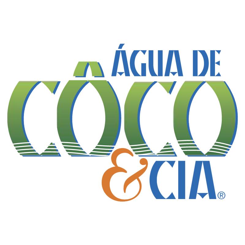 Agua de Coco & Cia vector