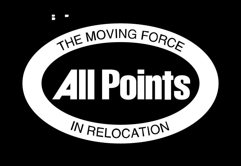 ALLPOINTS RELOCATION vector