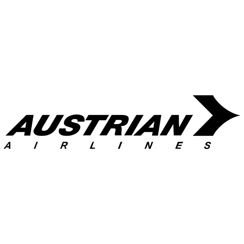 Austrian Airlines 30848 vector