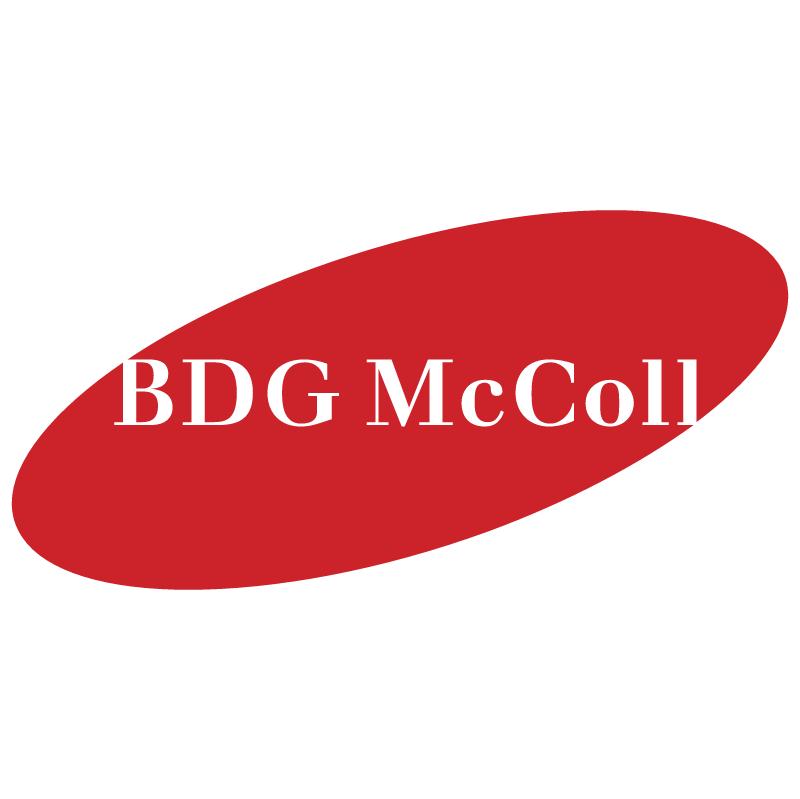 BDG McColl vector