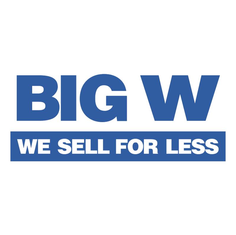 Big W 38832 vector