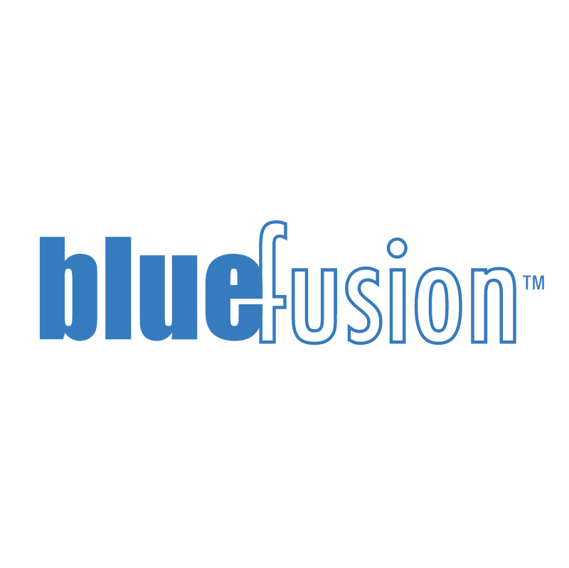 bluefusion 75406 vector logo