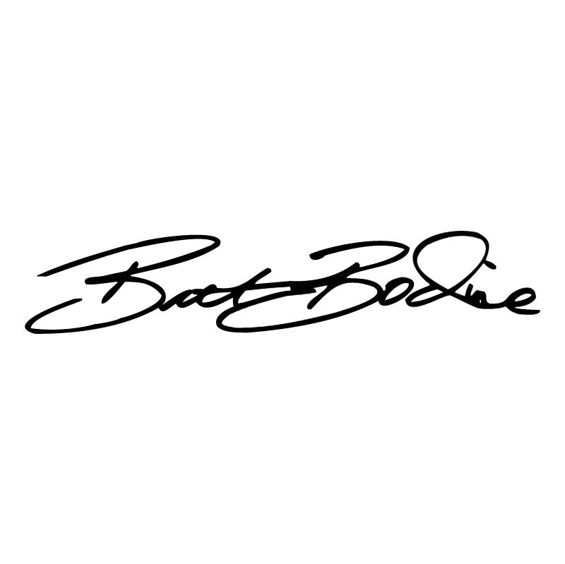Brett Bodine Signature vector
