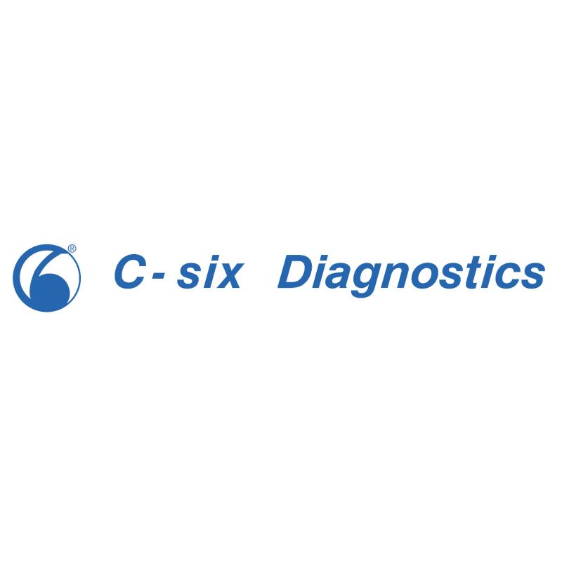 C six Diagnostics vector logo