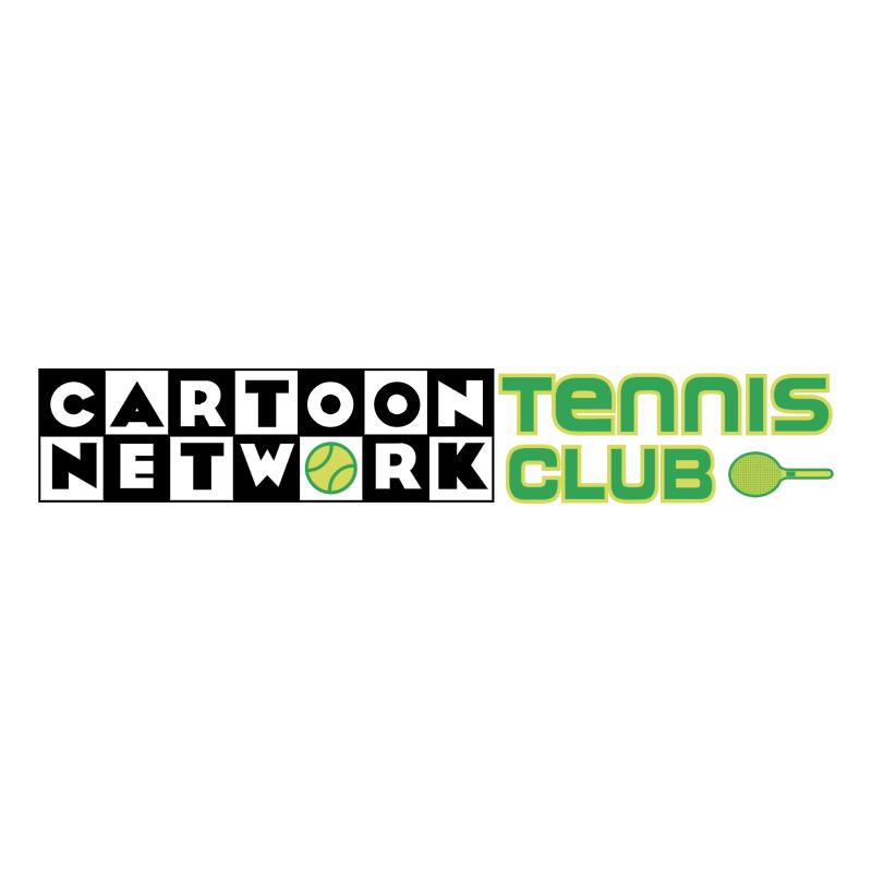 Cartoon Network Tennis Club vector logo