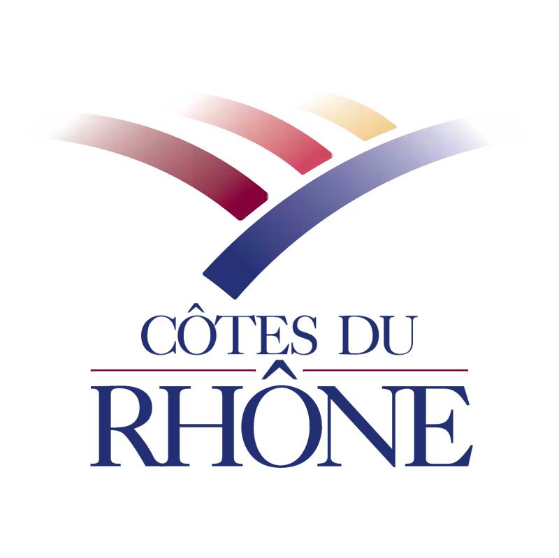 Cotes Du Rhone vector