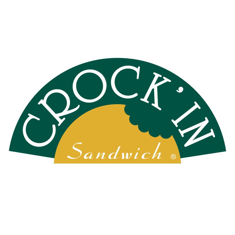 Crock' In Sandwich vector