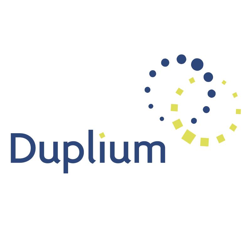 Duplium vector logo
