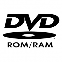DVD ROM RAM vector