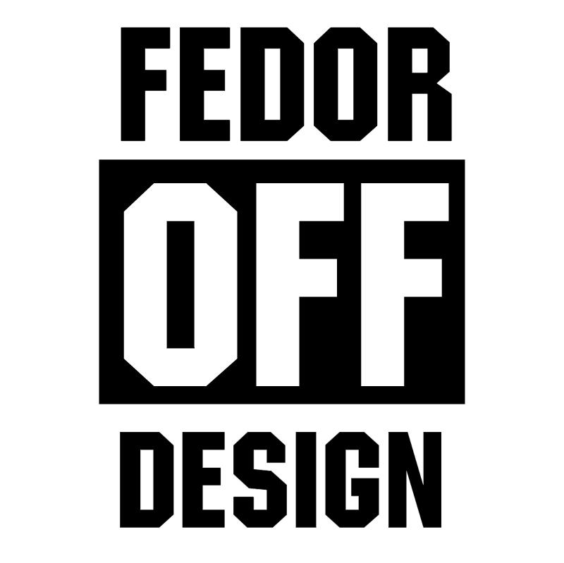Fedor Off Design vector logo
