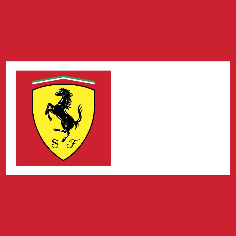Ferrari Team vector logo