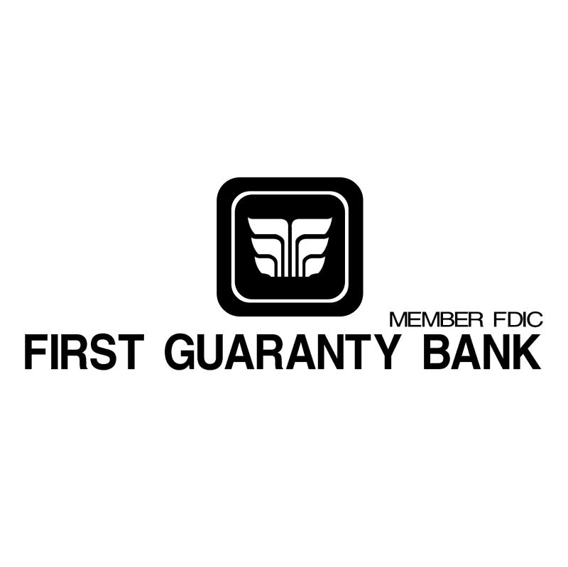 First Guaranty Bank vector logo