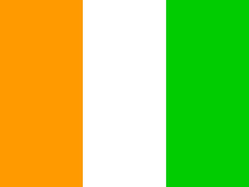 Flag of Ivory Coast vector