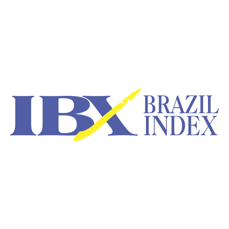 IBX Brazil Index vector logo