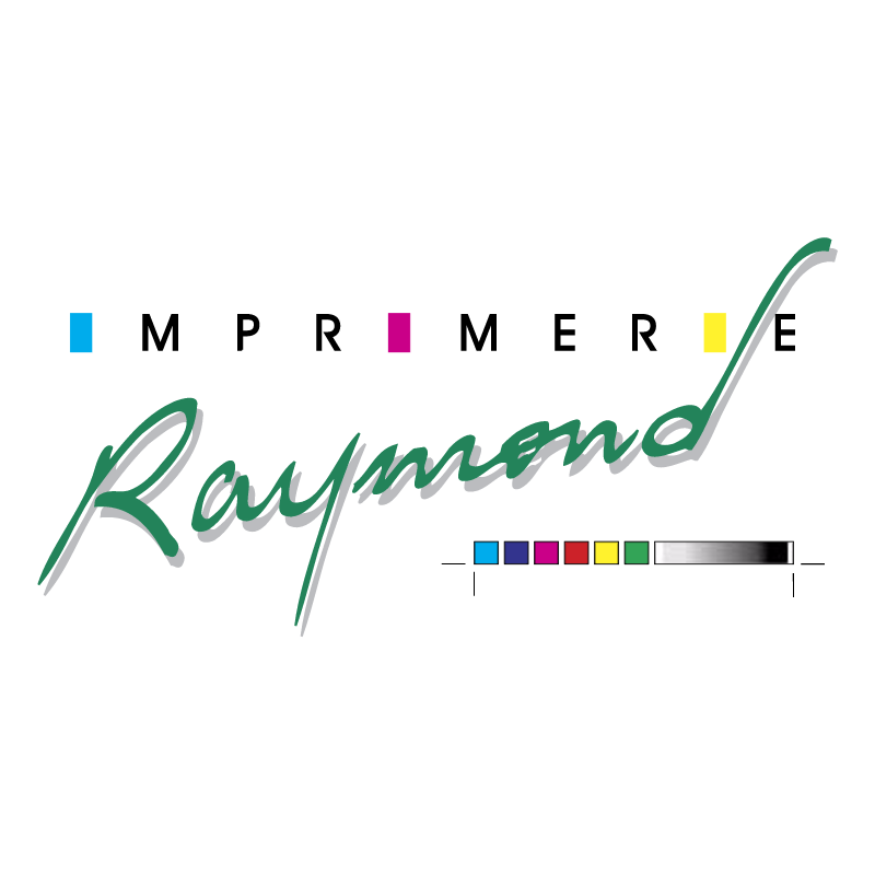 Imprimerie Raymond vector