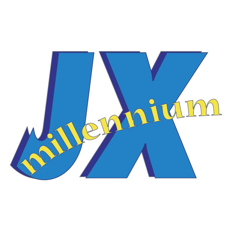 JX Millennium vector logo