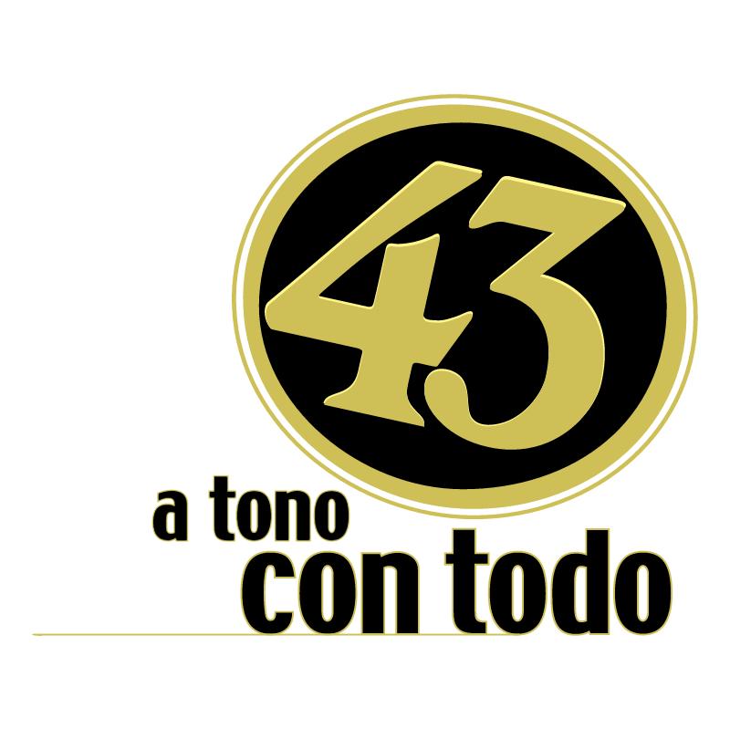 Licor 43 vector